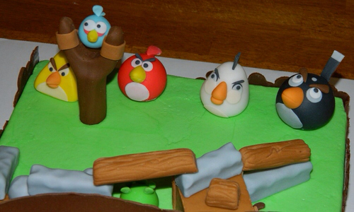 Angry Birds Birthday Cake03