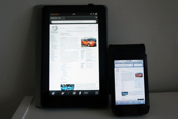 A Kindle phone