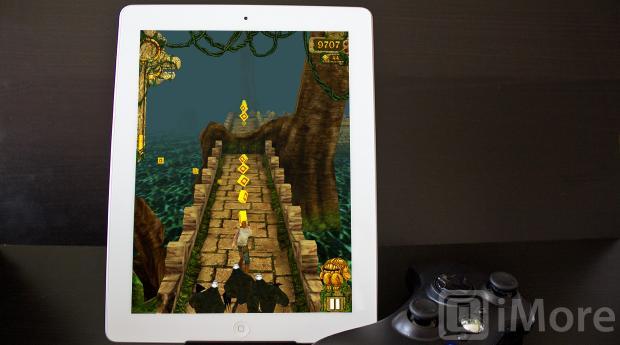 iPad Temple Run