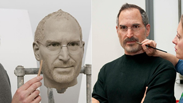 Madame Tussauds' Steve Jobs wax figure