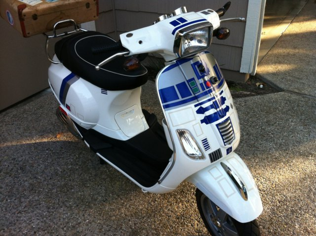 R2-D2 Scooter