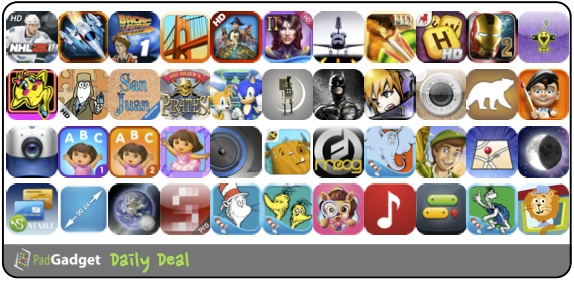 PadGadget Daily App Deal - 44 iPad Apps on Sale