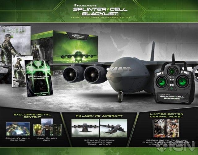 Splinter Cell Blacklist Collector's Edition
