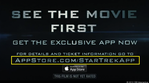 Screen Shot 2013 02 03 at 5.15.50 PM 520x289 Apple quietly debuts App Store vanity URLs for developers with Star Trek Super Bowl ad