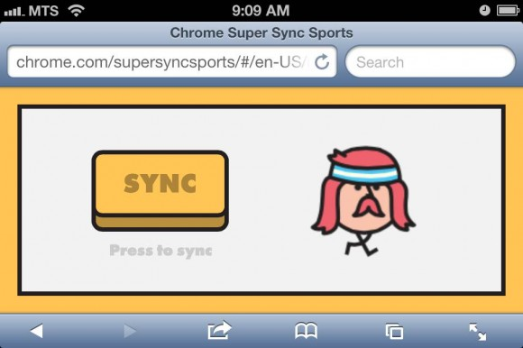 chrome super sync safari ios