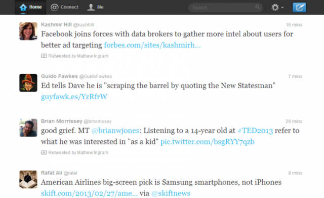 Twipster 730x447 Easy to read: Twipster for Chrome and Safari gives you a tidier Twitter interface