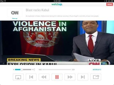 Watchup iPad App
