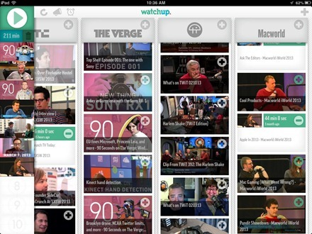 Watchup Playlists